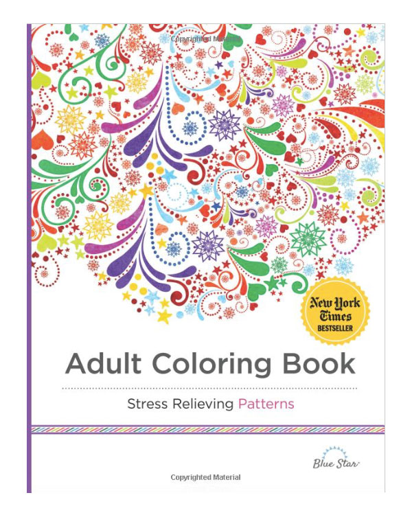 Adult Patterns Coloring Book
