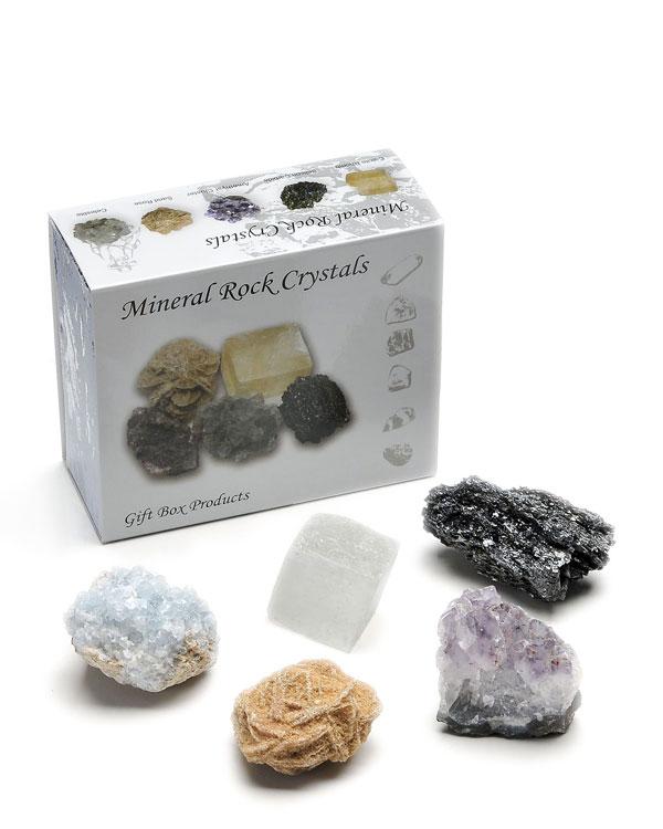 Rough Mineral Rock Variety Set