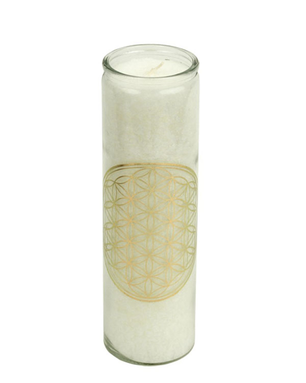 The Flower of Life Scented Candle