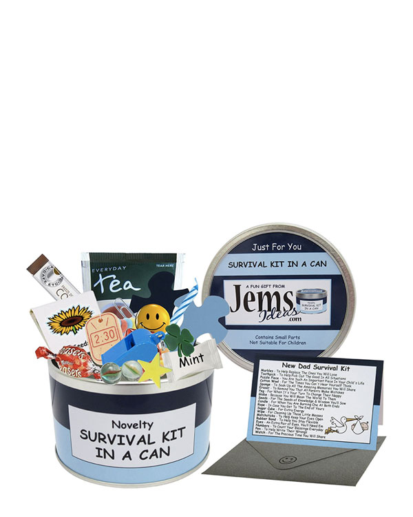 Dad To Be Survival Kit In A Can