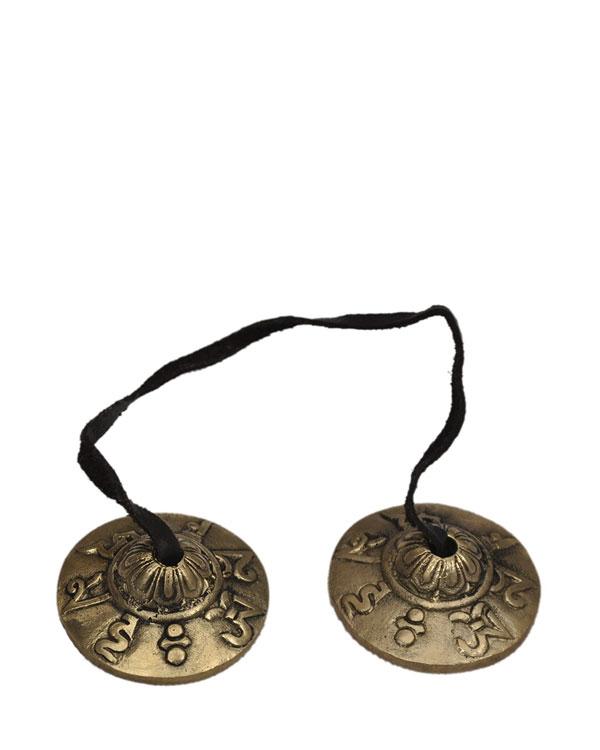 Ting-Sha Meditation Cymbals – 7 cm - SparkYourBloom