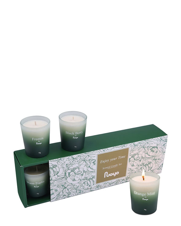 Scented Candles Travel Set