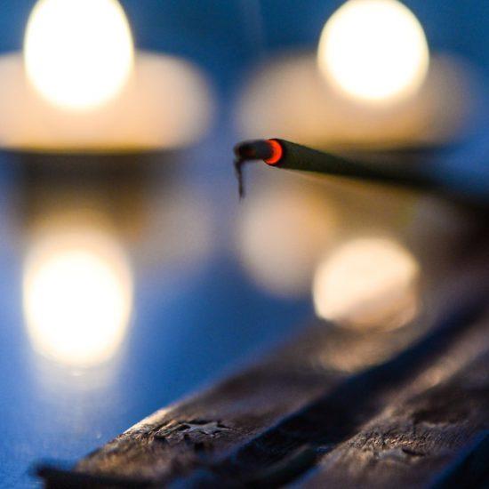 meditation and senses incense