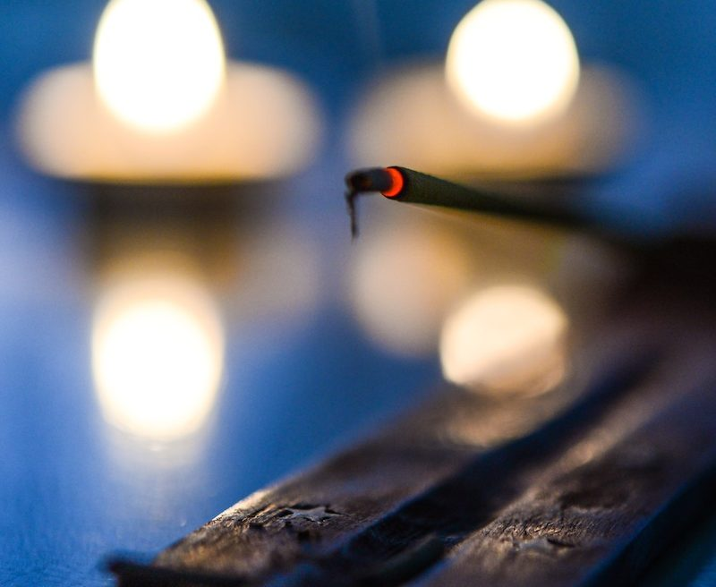 meditation and senses incense