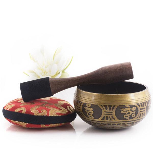 meditation and senses singing bowl set