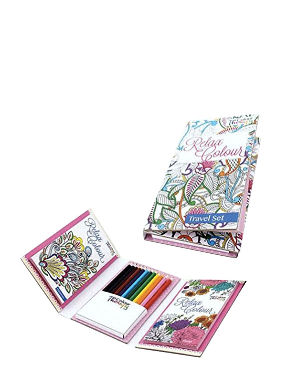 Travel Colouring Set for Kids - Soothe Anxiety