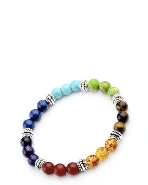 Lava Rock Bracelet – Chakra Beads