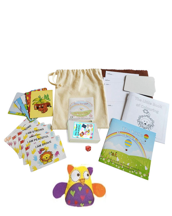Little Bag of Cards and Therapeutic Games - SparkYourBloom