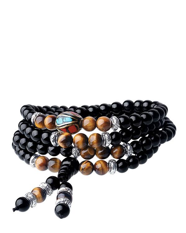 Multilayer Mala Bead Bracelet for meditation