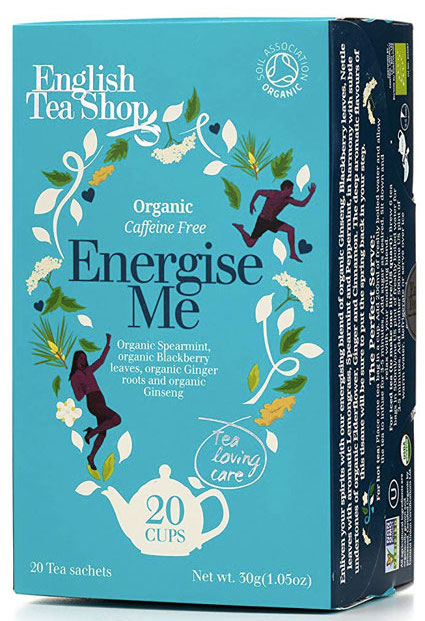 mindfulness practice organic tea energise me