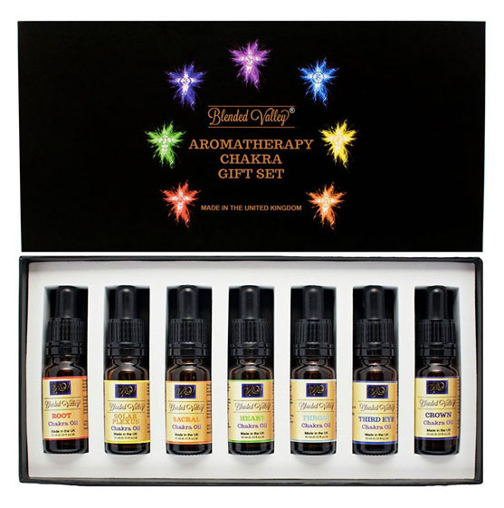 gift ideas chakra essential oils