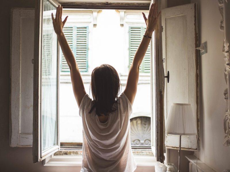 morning energising routine