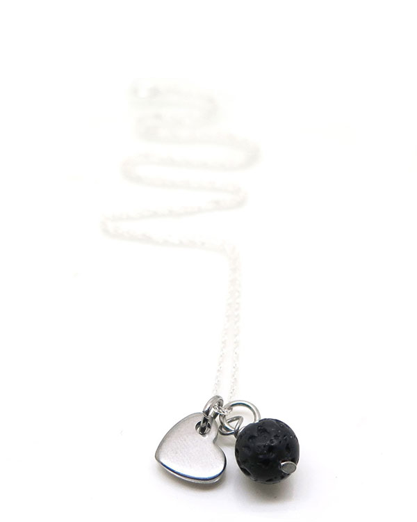 mindfulness in the office aromatherapy necklace
