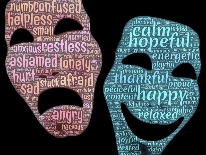 the energy of negative words