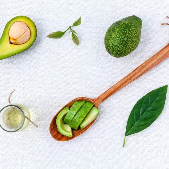 green healthy ingredients